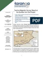 PositiveMagneticSurveyAtTheSumberIronOreProject14Jan11(1).pdf