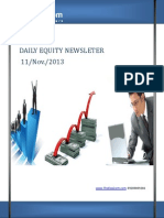 Equity Market Newsletter 11-November