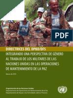 Directrices Del DPKO Peacekeeping