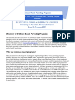 Directory of Evidence-Based Parenting Programs