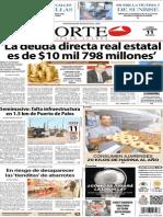 Periodico Norte de Ciudad Juarez 11 de Noviembre de 2013