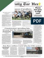 The Daily Tar Heel for November 11, 2013