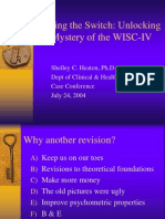 Unlocking the mistery of WISC-IV