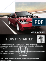 ANALYSIS OF MARKETING MIX OF HONDA CARS IN INDIA
