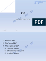 ESP_Introduction and ELT Tree