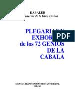 61791623 Kabaleb Plegaria Y Exhortos 72 Genios