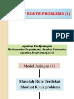 3 Shortest Route Problems Asiklis