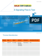 GSM Training Materials for Skill Certificates-(E)GPRS Signaling Flow & Test