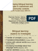 Developing bilingual learning2.ppt