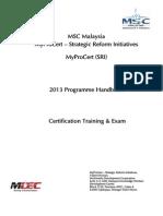 MyProCert(SRI)-Handbook-Training and Exam.pdf