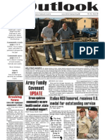 Outlook Newspaper  - 16 July 2009 - United States Army Garrison Vicenza - Caserma, Ederle, Italy