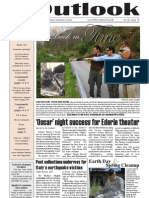 Outlook Newspaper  - 23 April 2009 - United States Army Garrison Vicenza - Caserma, Ederle, Italy