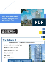 Living at the Center of Fort Bonifacio Global City CBD