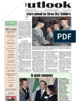 Outlook Newspaper  - 26 March 2009 - United States Army Garrison Vicenza - Caserma, Ederle, Italy