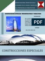Sistemas Estructurales-cons. Especiales