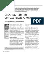 articles - CREATING TRUST WITHIN VIRTUAL TEAMS AT ORANGE.pdf