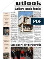 Outlook Newspaper  - 29 January 2009 - United States Army Garrison Vicenza - Caserma, Ederle, Italy