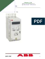 ACS150 user manual.doc