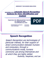 Speech Recognition UTHM