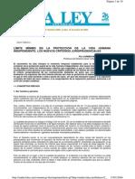 Carmen Requejo Conde - Límite mínimo en la protección de la vida humana independiente.pdf