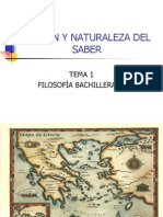 Origen y Naturaleza Del Saber 2012-13