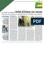 L'Università a rischio fusione con Ancona - Il Resto del Carlino dell'8 novembre 2013