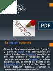 GESTION EDUCATIVA Y ACREDITACIÓN