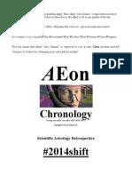 AEon Chronology 2014