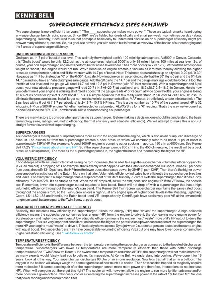 SC_efficiency pdf | Turbocharger | Engines