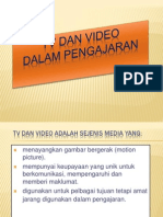 6.  TV DAN VIDEO DALAM PENGAJARAN.pptx