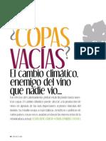 Copas Vacías El cambio climático...