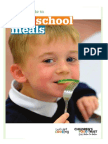 a quick guide to free school meals parents