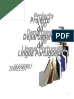 Doc. 0_Projecto do Departamento de Língua Portuguesa (1)
