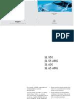 Instrukcja Obslugi Mercedes SL 2007 [ENG]