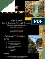 Defining Ecotourism.ppt