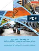 Research Priorities on Vulnerability, Impacts and Adaptation
