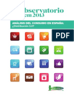 Observatorio Cetelem de la Distribución en España 2013
