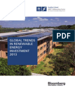 Global trends in renewable energy investment 2013