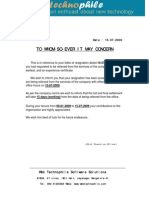 Format of relieving letter relieving letter latter spiritdancerdesigns Choice Image