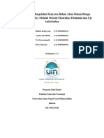 laporan Kimia bahan alam
