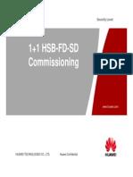 1+1 HSB SD FD Commissioning