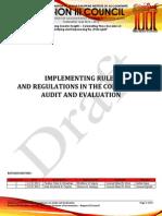 Nfjpiar3_1314_IRR No. 4_Audit and Evaluation