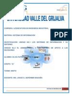 Materia Sistema de Informacion Unidad 2