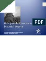 Guía para la Recolección de Material Vegetal