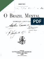 O Brazil mental, esboço critico, por Sampaio Bruno