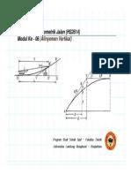 Perancangan Geometrik Jalan - Alinyemen Vertikal