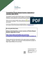 Guide to Appendix 8