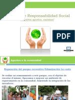 Acciones de Responsabilidad Social de METALDOM