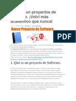Planear Un Proyectos de Software