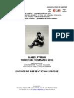 Tournée Roumanie 2013 - présentation[1]